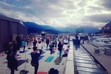 Yoga am Dach 2017